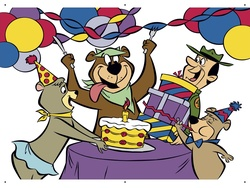 Yogi Bear birthday party