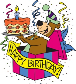 Happy Birthday Yogi Bear
