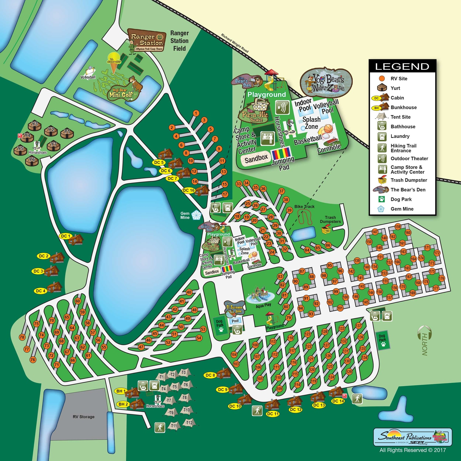 About Us View Park Map Yogi Bear S Jellystone Park At